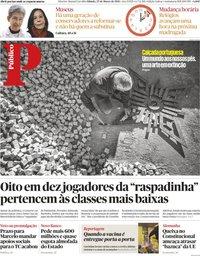 capa Público de 27 março 2021