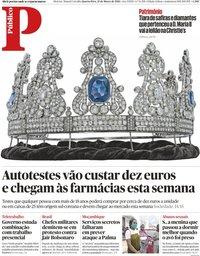 capa Público de 31 março 2021