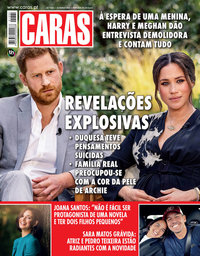 capa Revista Caras de 11 março 2021