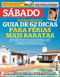 capa Revista Sábado de 18 março 2021