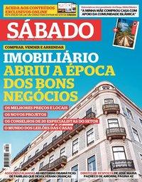 capa Revista Sábado de 25 março 2021