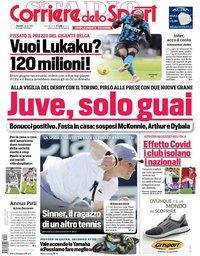 capa Corriere dello Sport de 2 abril 2021