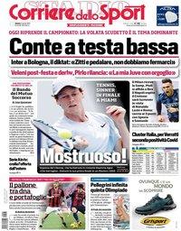capa Corriere dello Sport de 3 abril 2021