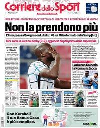 capa Corriere dello Sport de 4 abril 2021
