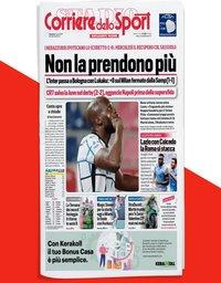 capa Corriere dello Sport de 5 abril 2021