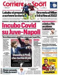 capa Corriere dello Sport de 6 abril 2021