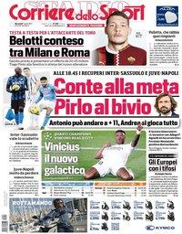 capa Corriere dello Sport de 7 abril 2021