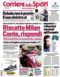 capa Corriere dello Sport de 11 abril 2021