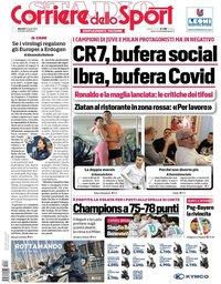 capa Corriere dello Sport de 13 abril 2021