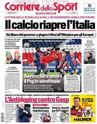 capa Corriere dello Sport de 14 abril 2021