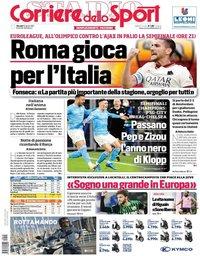 capa Corriere dello Sport de 15 abril 2021