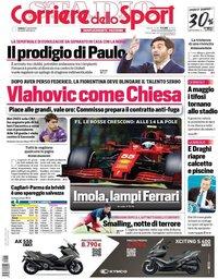 capa Corriere dello Sport de 17 abril 2021