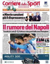 capa Corriere dello Sport de 23 abril 2021