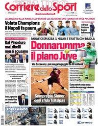 capa Corriere dello Sport de 24 abril 2021