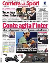 capa Corriere dello Sport de 25 abril 2021