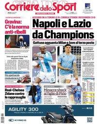 capa Corriere dello Sport de 27 abril 2021