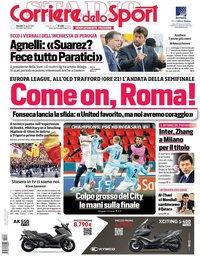 capa Corriere dello Sport de 29 abril 2021