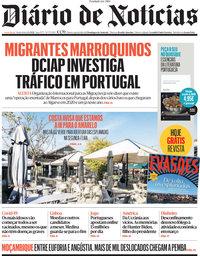 capa Diário de Notícias de 2 abril 2021