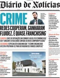 capa Diário de Notícias de 13 abril 2021