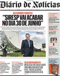 capa Diário de Notícias de 14 abril 2021