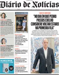 capa Diário de Notícias de 19 abril 2021