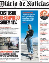capa Diário de Notícias de 22 abril 2021