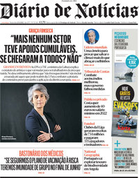 capa Diário de Notícias de 23 abril 2021