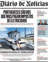 capa Diário de Notícias de 27 abril 2021