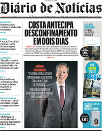 capa Diário de Notícias de 30 abril 2021