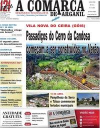 capa Jornal A Comarca De Arganil