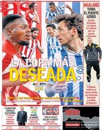 capa Jornal As de 2 abril 2021