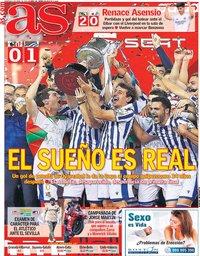 capa Jornal As de 4 abril 2021