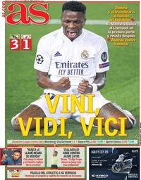 capa Jornal As de 7 abril 2021