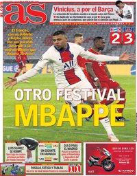 capa Jornal As de 8 abril 2021