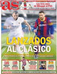 capa Jornal As de 9 abril 2021