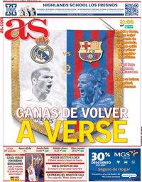 capa Jornal As de 10 abril 2021