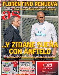 capa Jornal As de 13 abril 2021