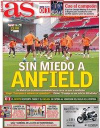 capa Jornal As de 14 abril 2021