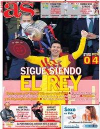 capa Jornal As de 18 abril 2021