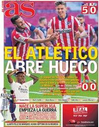 capa Jornal As de 19 abril 2021