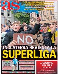 capa Jornal As de 21 abril 2021