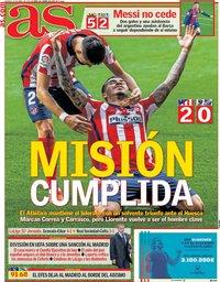 capa Jornal As de 23 abril 2021