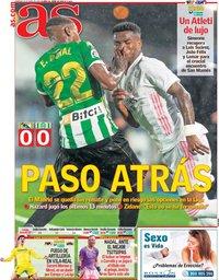 capa Jornal As de 25 abril 2021