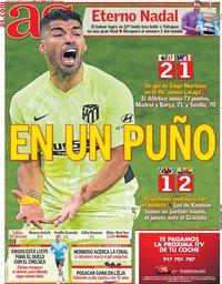 capa Jornal As de 26 abril 2021
