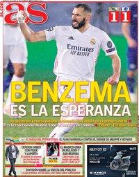 capa Jornal As de 28 abril 2021