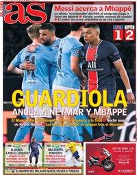 capa Jornal As de 29 abril 2021