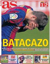 capa Jornal As de 30 abril 2021