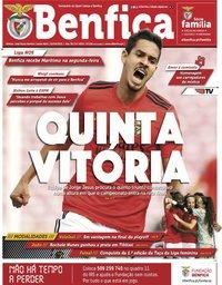 capa Jornal Benfica de 2 abril 2021