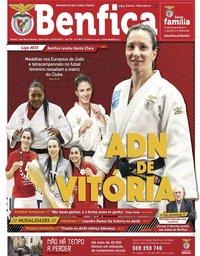 capa Jornal Benfica de 23 abril 2021