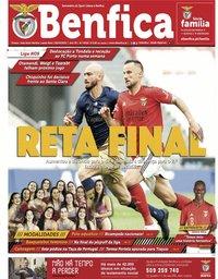 capa Jornal Benfica de 30 abril 2021